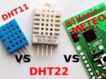 BBM_METEO vs DHT11_22