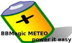 BBMagic METEO powering