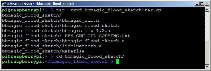 bbmagic_flood_sketch rozpakowanie