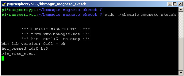 bbmagic_magneto_sketch running