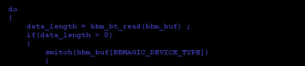 BBMagic BUTTON app code