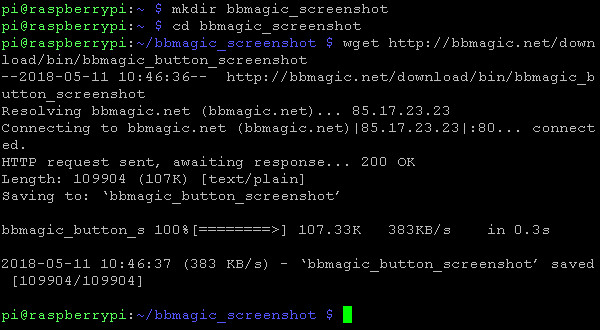 BBMagic BUTTON screenshot app download