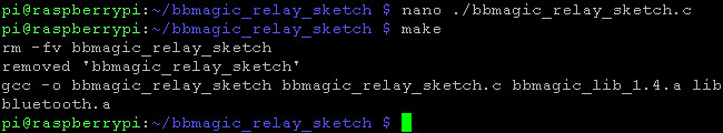 BBMagic RELAY app kompilacja