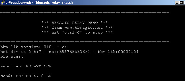 BBMagic RELAY app odczyt mac