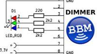BBMagic DIMMER demo app