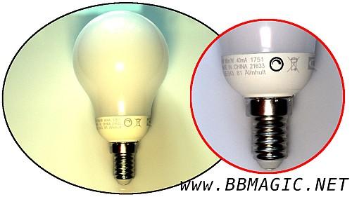 LED z regulacją jasności