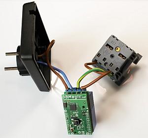 BBMagic RELAY POWER podłączenie KM-49
