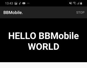 BBMobile kontrolka TextView