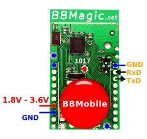 BBMobile UART Pins