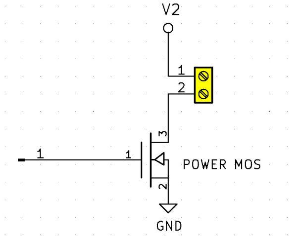 Remote Switch tranzystor mocy